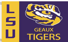 Load image into Gallery viewer, Louisiana State Tigers Hand Flag 3*5ft