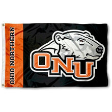 Load image into Gallery viewer, Ohio Northern Polar Bears Flag 3x5 ft