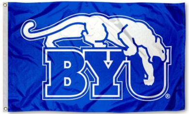Brigham Young Cougars Falcons Brigham University Flag 3*5ft