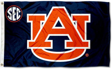 Auburn Tigers Sec Banner Flag 3*5ft