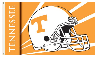 Tennessee Volunteers Helmet Banner Flag 3*5ft