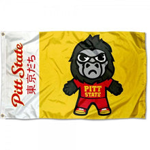 Load image into Gallery viewer, Pitt State Gorillas Flag 3ftx5ft