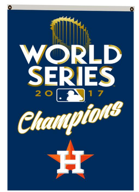 Houston Astros 2017 World Series Champions flags 3ftx5ft