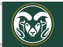 Load image into Gallery viewer, Colorado State Rams Hand Flag 3*5ft