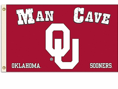 Oklahoma Sooners Man Cave Banner Flags 3*5ft