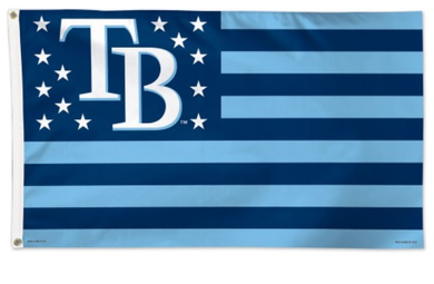 Tampa Bay Rays Star and Stripes Flag 3x5ft