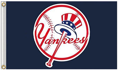 New York Yankees Logo Banner flags 90x150cm