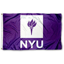 Load image into Gallery viewer, New York University Flag 3ftx5ft