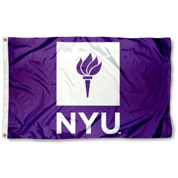 New York University Flag 3ftx5ft