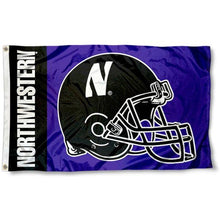 Load image into Gallery viewer, Northwestern Wildcats Flag 3x5 ft