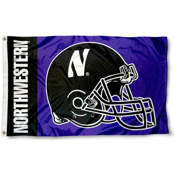 Northwestern Wildcats Flag 3x5 ft