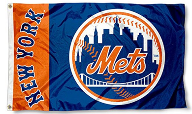 New York Mets Banner flag 3ftx5ft