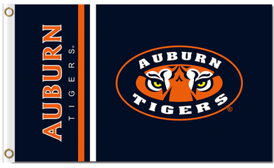 Auburn Tigers polyester Banner Flag 3*5ft