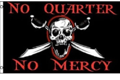 Texas Tech Red Raiders No Quarter No Mercy Flag 3ft*5ft