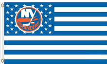 Load image into Gallery viewer, New York Islanders USA flags with star and stripe 3x5 ft
