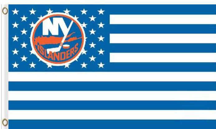 New York Islanders USA flags with star and stripe 3x5 ft