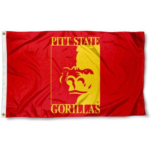 Pitt State Gorillas Flag 3ftx5ft