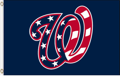 Washington Nationals American Banner flag 3ftx5ft