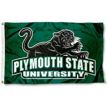 Load image into Gallery viewer, Plymouth State Panthers Flag 3ftx5ft