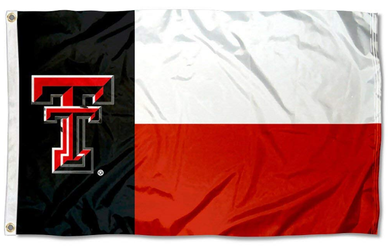 Texas Tech Red Raiders State Banner Flag 3ft*5ft