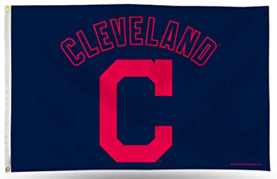 Cleveland Indians Logo Banner flags 3ftx5ft