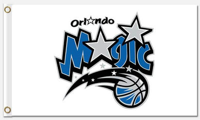 Orlando Magic custom flag 3ftx5ft