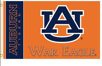 Auburn Tigers War Eagle Banner Flag 3ft*5ft