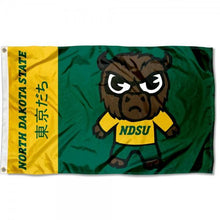 Load image into Gallery viewer, North Dakota State Bison Flag 3ftx5ft