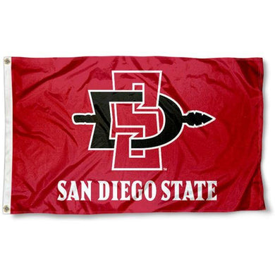 San Diego State Aztecs Flag Digital Printing 3ftx5ft