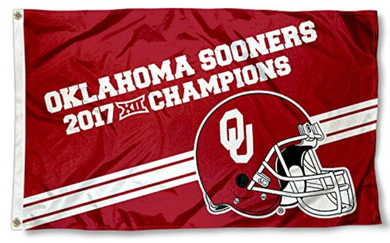 Oklahoma Sooners 2017 Big 12 Champions Banner Flags 3*5ft