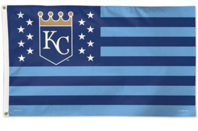 Kansas City Royals USA Nation Banner flags 3ftx5ft