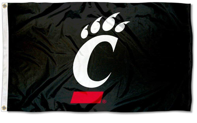 Cincinnati Bearcats Hand Flag 3*5ft