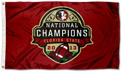 Florida State Seminoles 2013 National Champs Flag 3ft*5ft