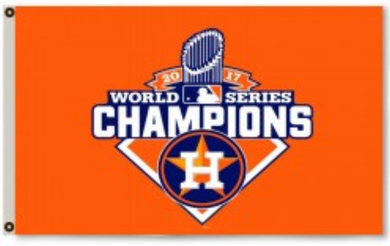 Houston Astros 2017 World Series Champions Banner Team Flag 3x5ft