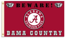 Load image into Gallery viewer, Alabama Crimson Bama Country Flag 3x5ft
