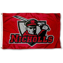 Load image into Gallery viewer, Nicholls State Colonels Flag 3ftx5ft