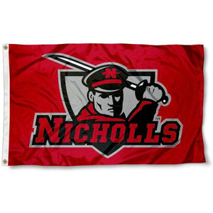 Nicholls State Colonels Flag 3ftx5ft