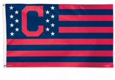 Cleveland Indians Star and Stripes Banner flags 3ftx5ft