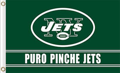 New York Jets Puro Pinche Flags 3ftx5ft