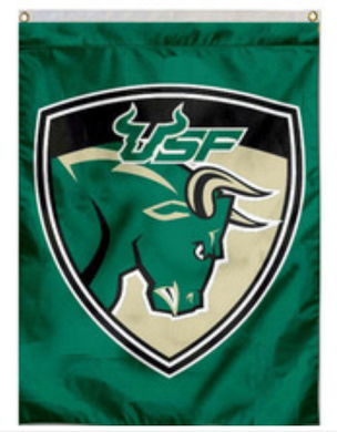 South Florida Bulls Banner Flag 3*5ft