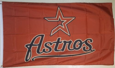 Houston Astros Logo Banner flags 3ftx5ft