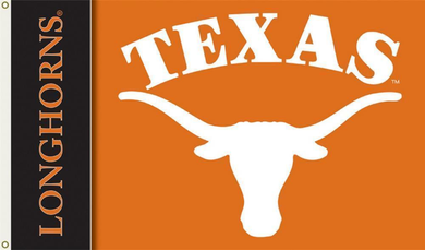 Texas Longhorns Deluxe Banner Flag 3x5FT