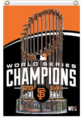 San Francisco Giants 2014 Series Champion Banner flags 90x150cm