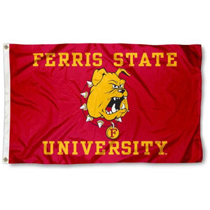 Ferris State Bulldogs Flag 3*5ft