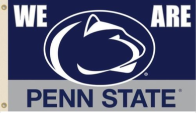 Penn State Nittany Lion We Are Sport Banner Flag 3*5ft