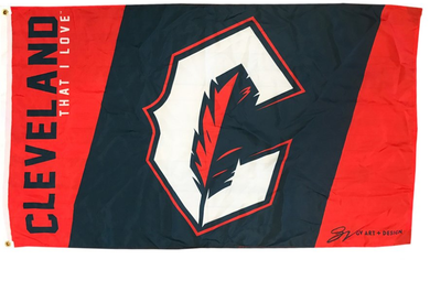 Cleveland Indians That Love Banner flags 3ftx5ft