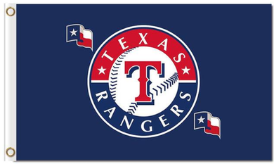 Texas Rangers Baseball Team Banner Flag 3x5ft