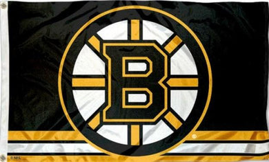 Boston Bruins Column Flag 3x5 FT Banner 100D