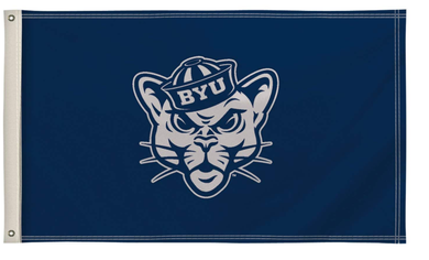 Brigham Young Cougars Victory Corps Banner Flag 3*5ft