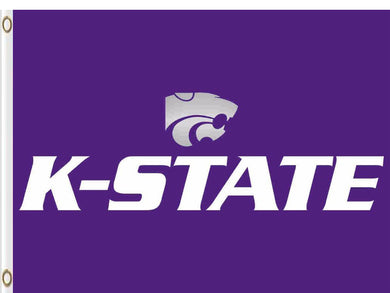 Kansas State Wildcats Hand Flag 3*5ft Club